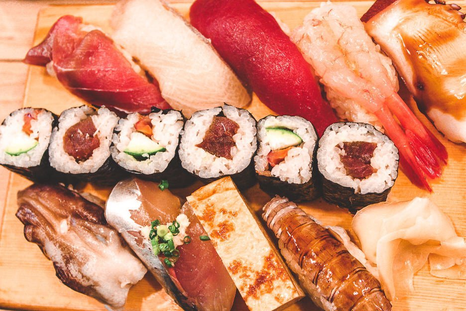 Plate of Sushi and nigiri | Must try Japanese Food