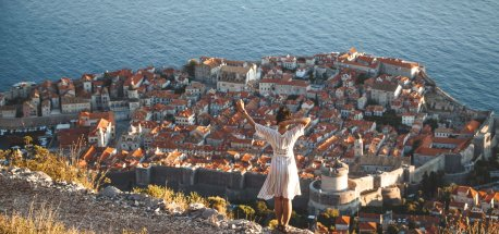 Photos of Croatia | Watching the sunset over Dubrovnik Old Town