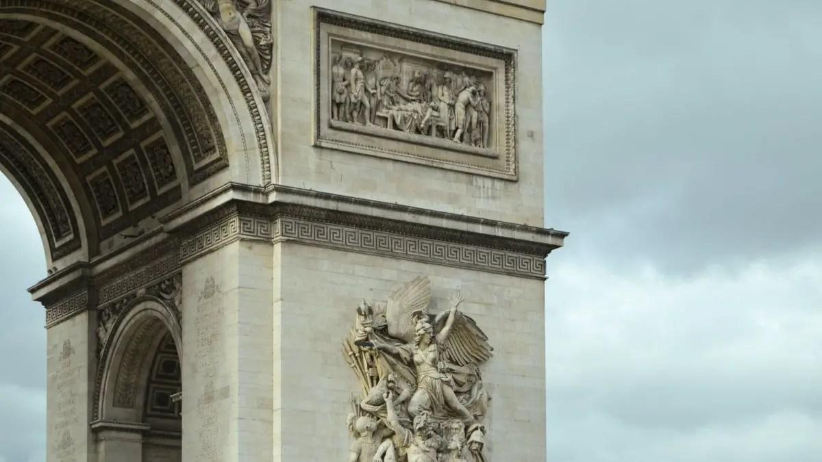 Plan a trip to Paris - Arc de Triomphe