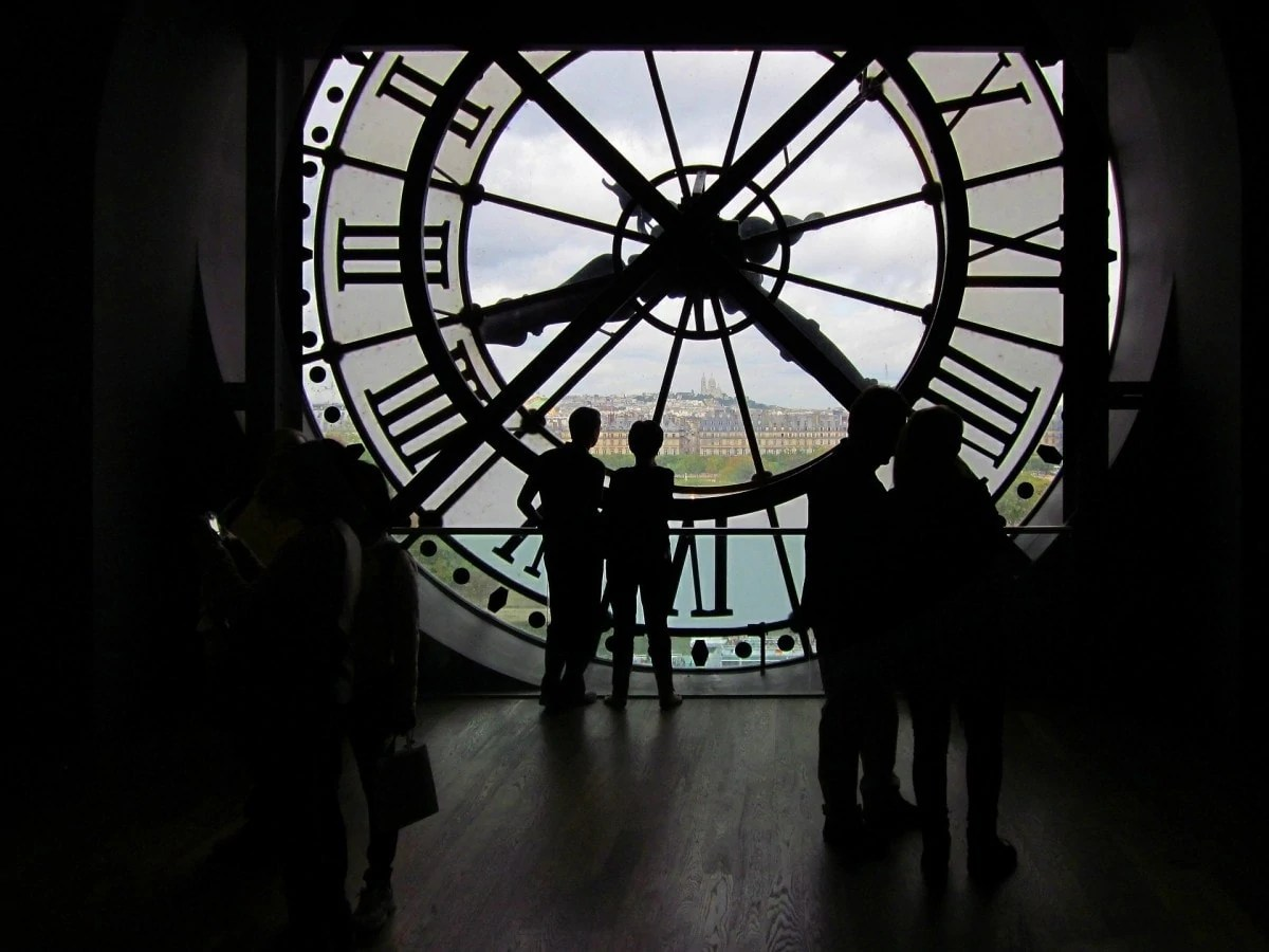 72 hours in paris itinerary - Musee d'Orsay clock