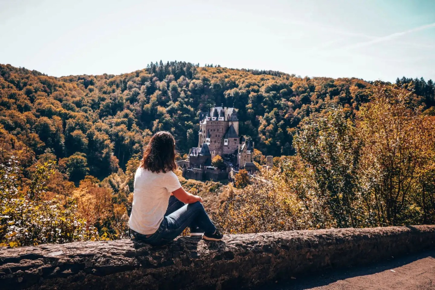 Lee at Burg Eltz in Germany a real hidden gem