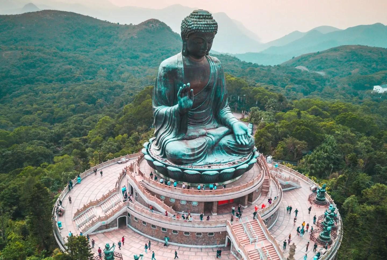 Tian Tan Buddha - Hong Kong