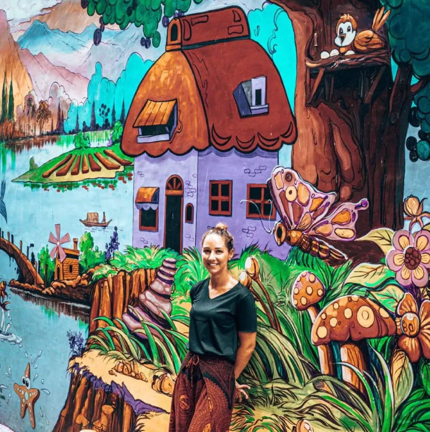 Yangon Street Art Mural