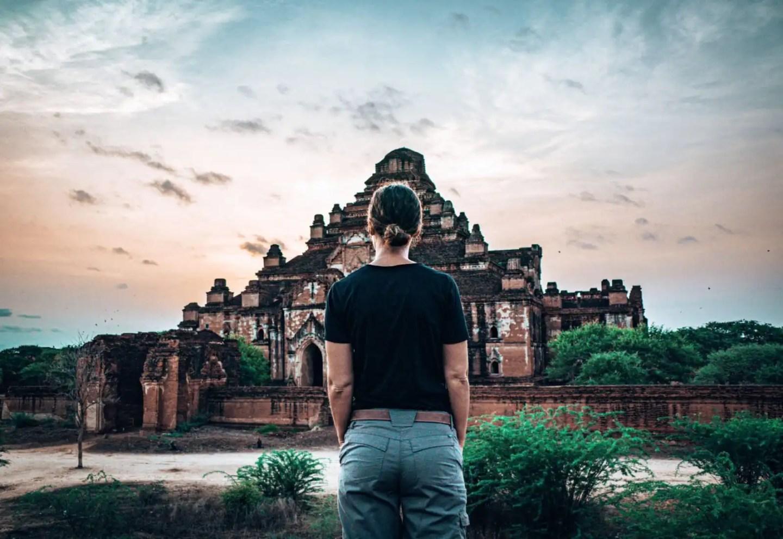 Lee at Dhammayangyi Bagan - Bagan Temple Guide