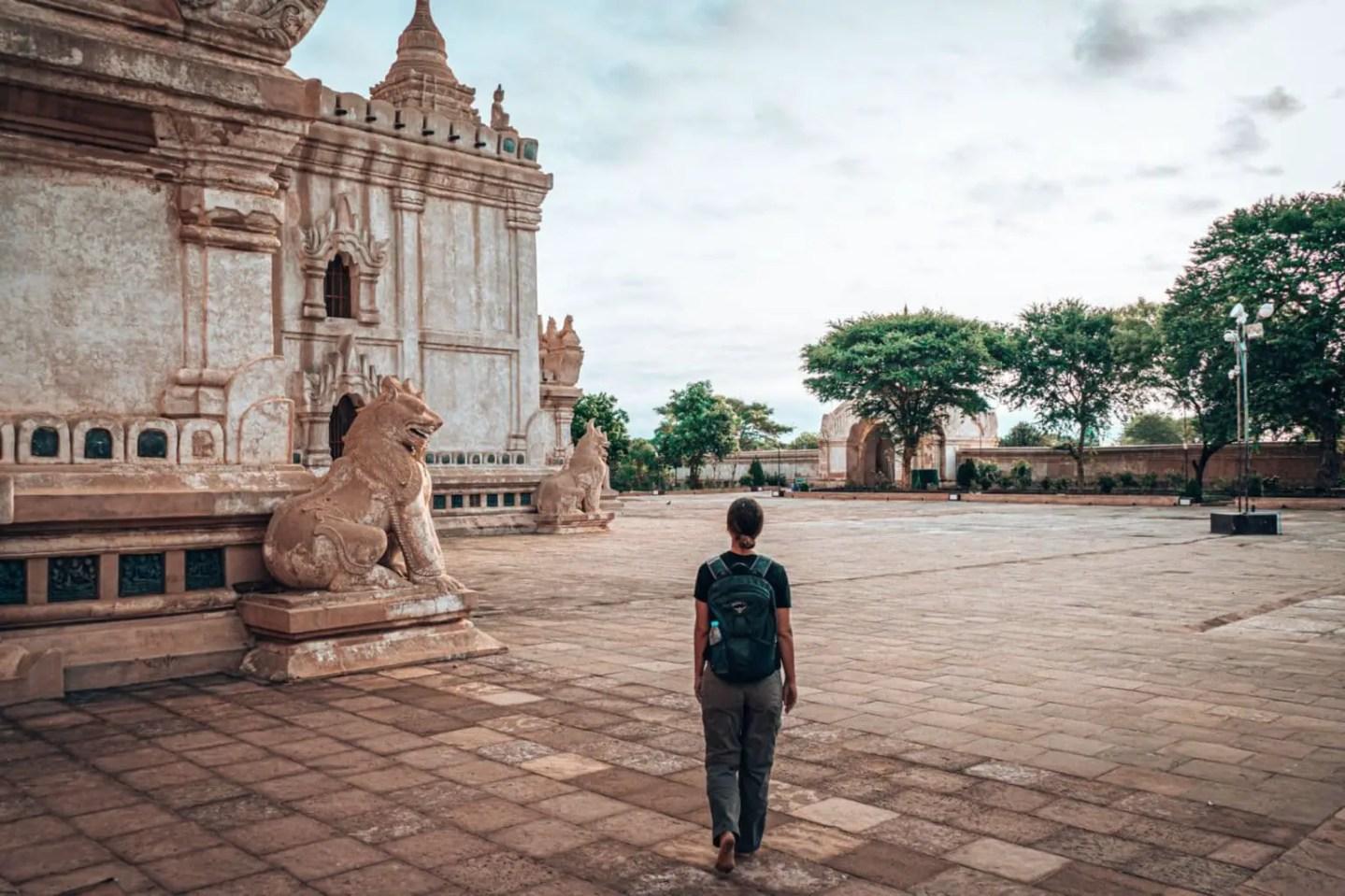 Ananda Temple Bagan - Bagan Temples Map