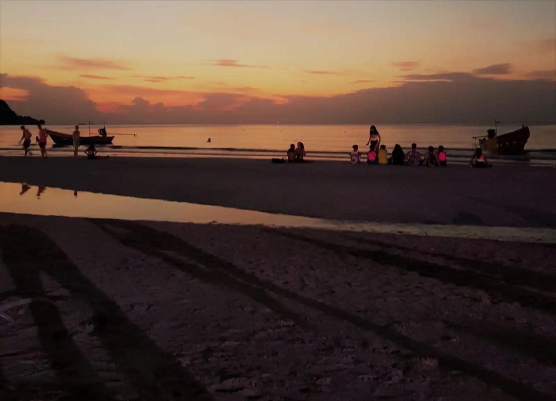 Sunrise over Haad Rin, Koh Pha Ngan