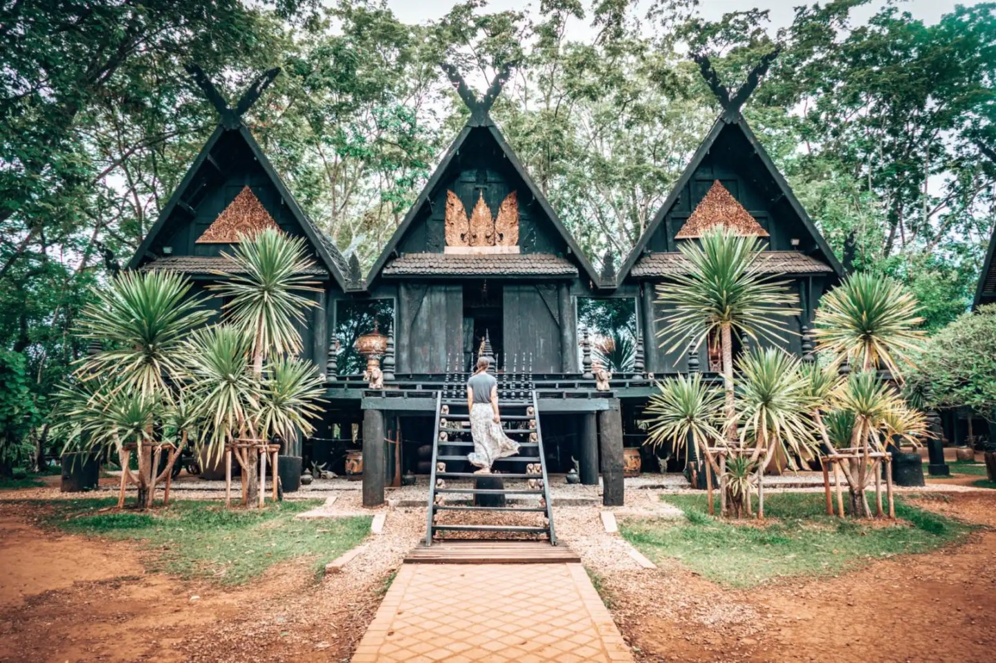 The Black House, Baan Dam, Chiang Rai