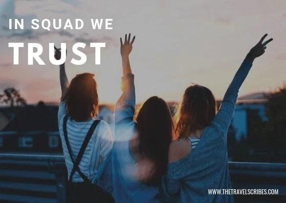 Image quote - In squad we trust