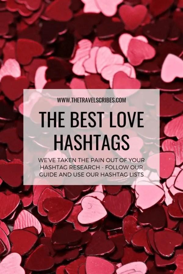 Pinterest Graphic - Love Hashtags