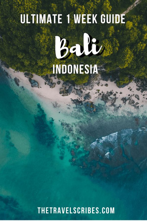 Bali 7 Days itinerary - the ideal one week itinerary across Bali, Indonesia