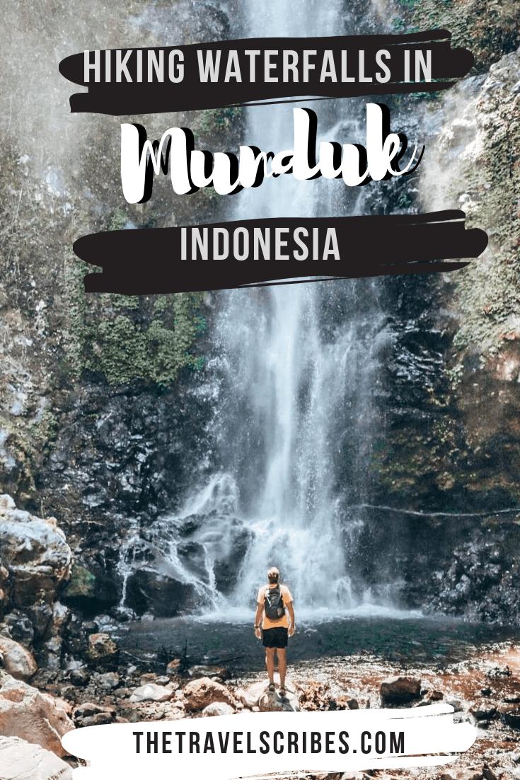 Hiking the Munduk waterfalls