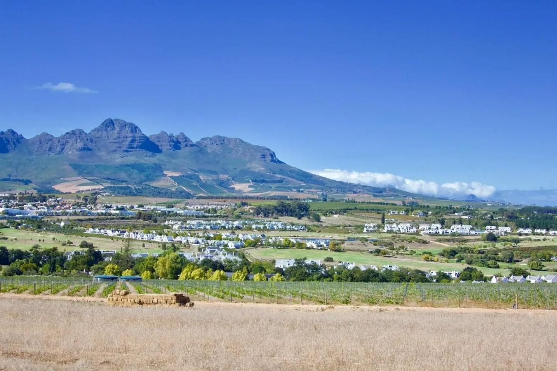 Image of Stellenbosch town