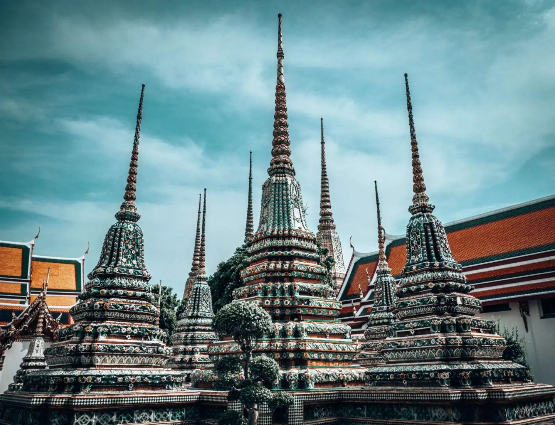 Landmarks in Thailand - Wat Pho