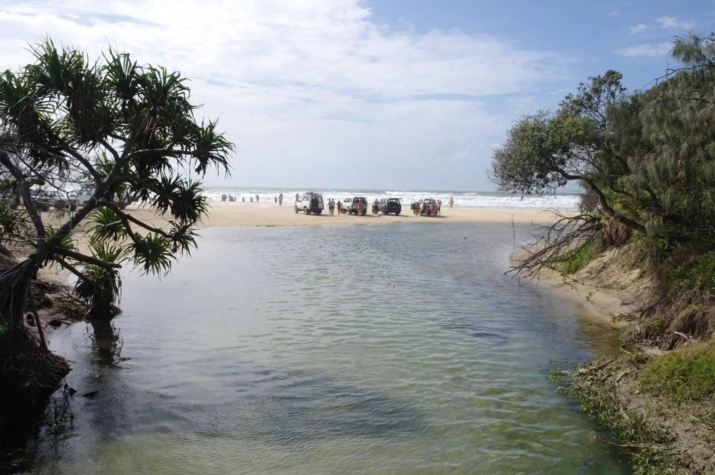 Cairns to Brisbane - Eli Creek Fraser Island