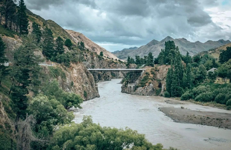 Hanmer Springs - bridge viewpoint