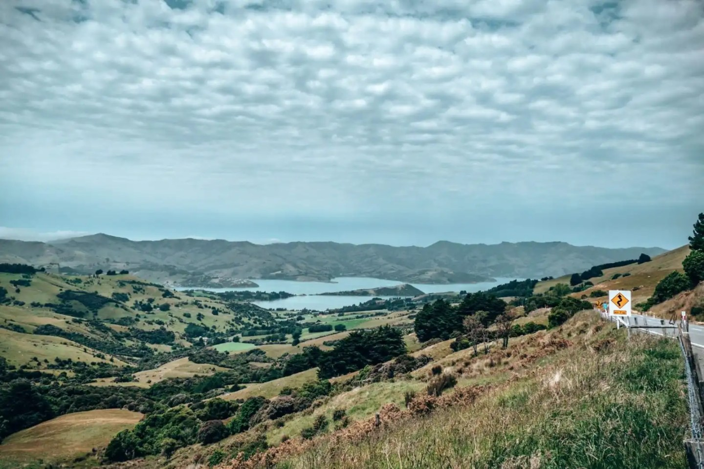 Akaroa viewpoint from Port hills