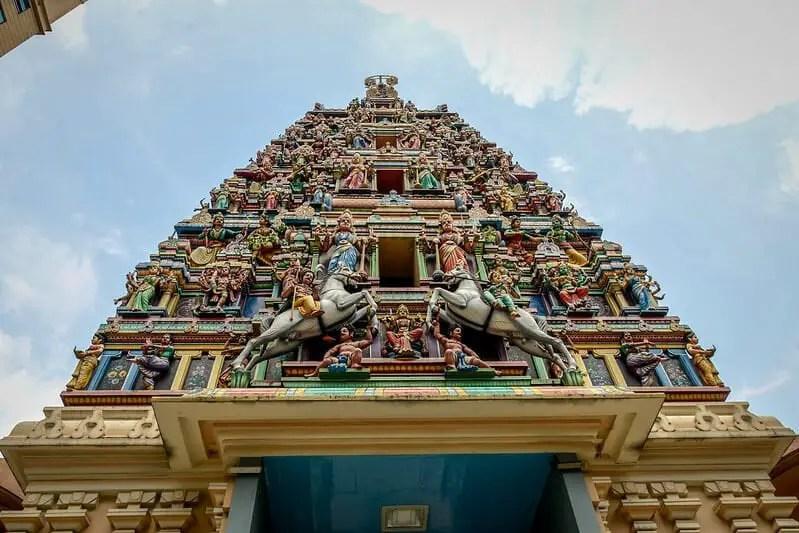 Sri Hindu Temple in Kuala Lumpur