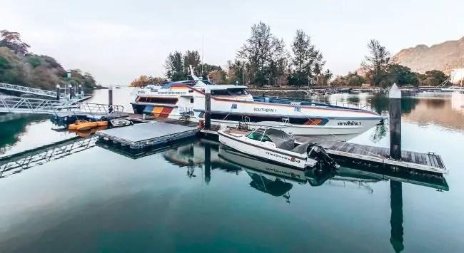 Langkawi to Koh Lipe Ferry