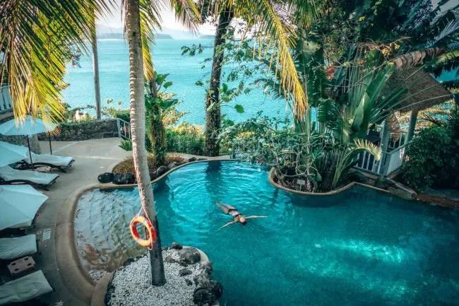 Luxury Villas in Phuket - Centara Villas Floating in Pool