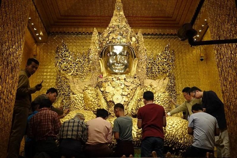 Mahamuni Temple, Mandalay, Myanmar