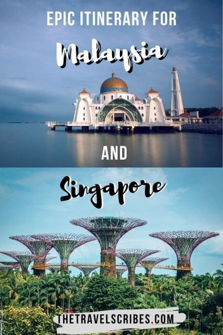 Singapore Malaysia itinerary