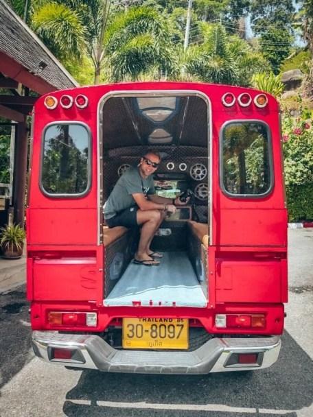 Song Thaew in Phuket