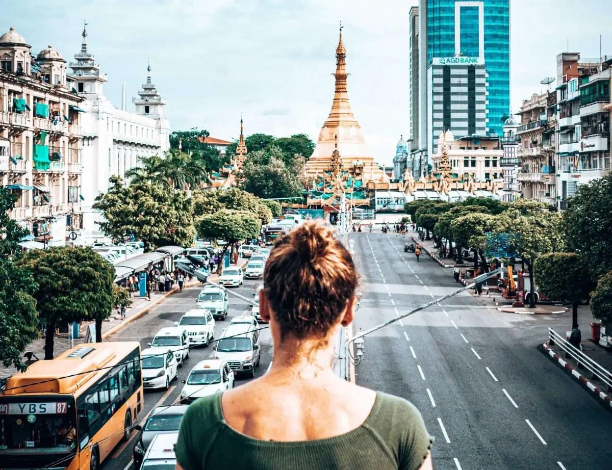 3 days in Yangon itinerary - Sule Pagoda