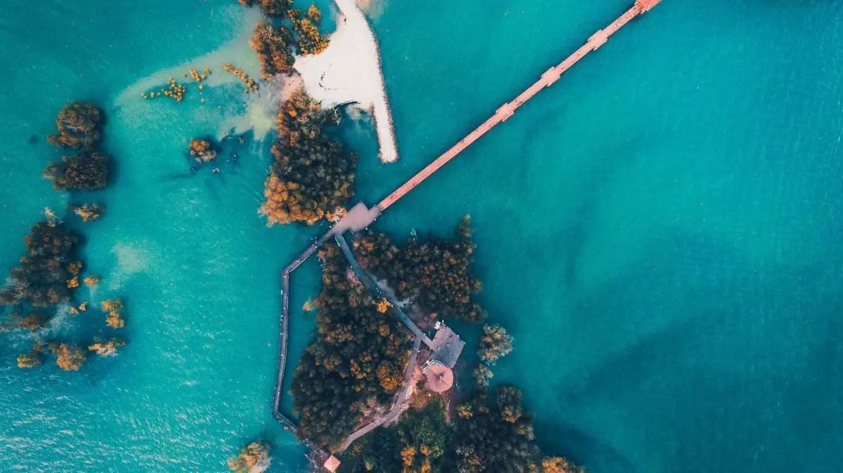 Port Dickson drone shot
