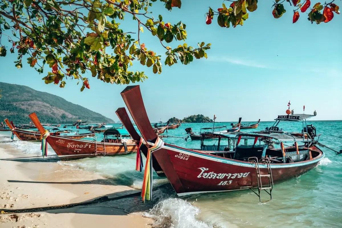 Books about wanderlust - Maya Bay Thailand