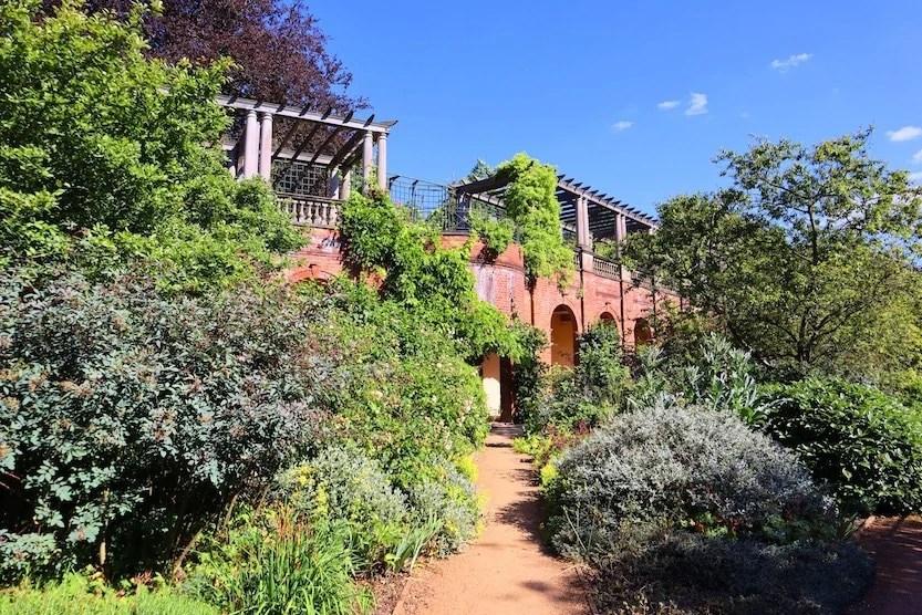 Hidden Gems in London - Hampstead Heath Pergola Hill Garden