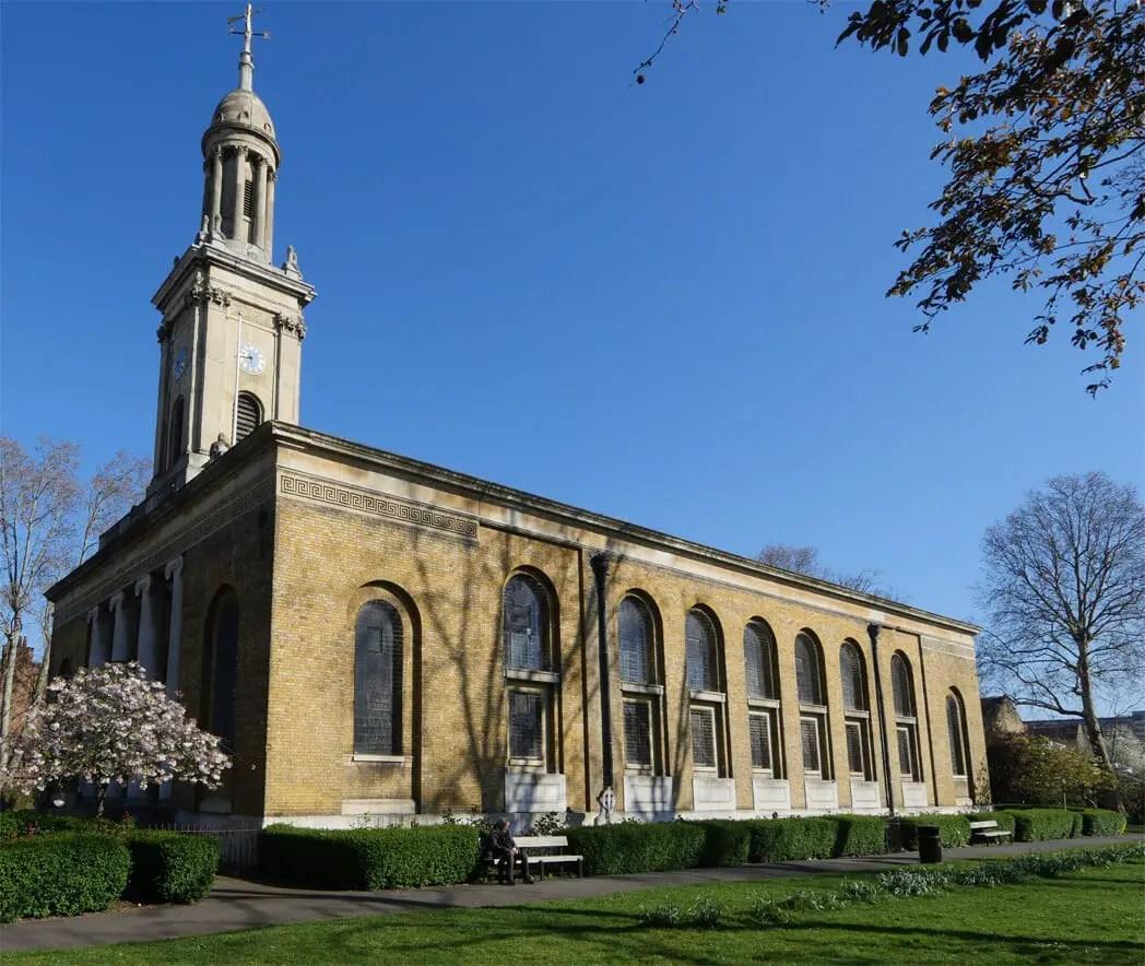Hidden Gems in London - St Peters Walworth London