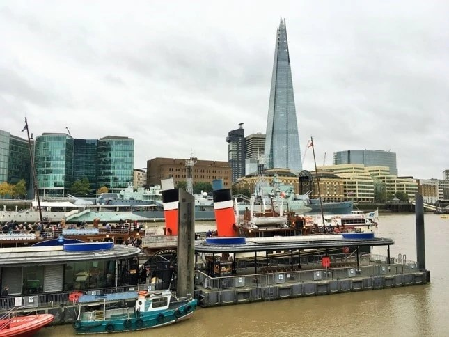 Non touristy things to do in London - Paddle Steamer