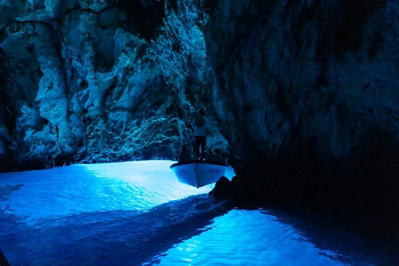 Visit the Blue Cave as part of your Split itinerary