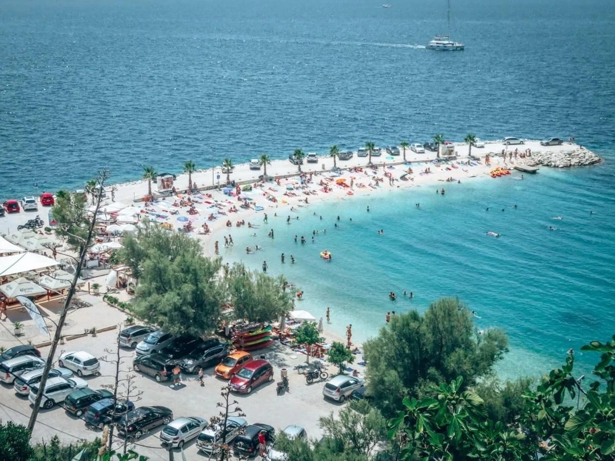2 days in Split itinerary - Kasjuni Beach