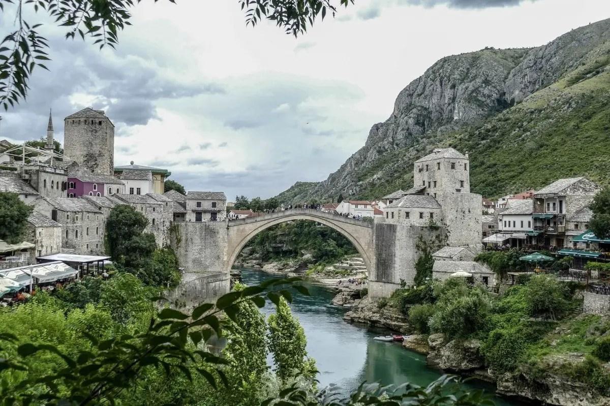 2 days in Split itinerary - day trip from Split to Mostar