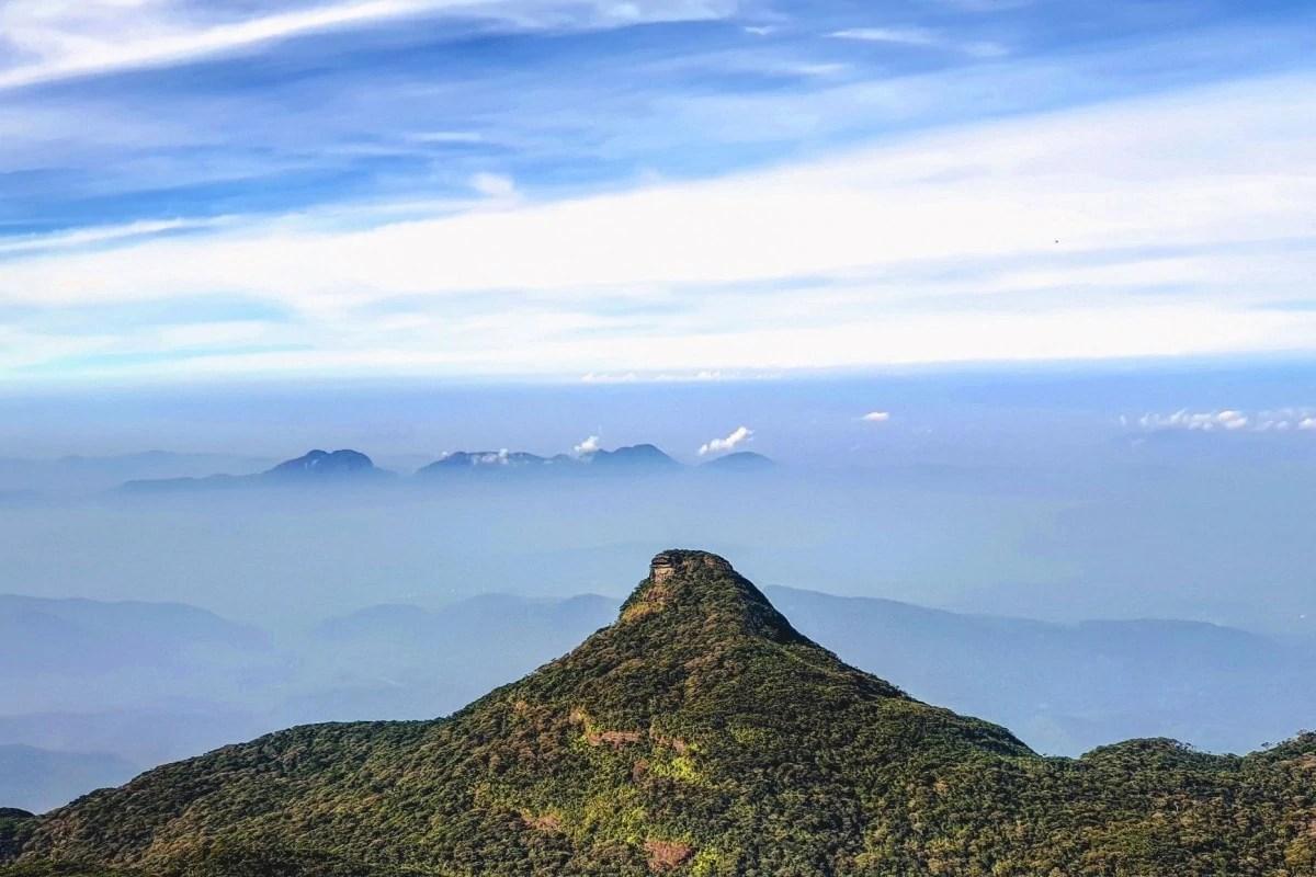 Sri lanka famous landmarks - Adams Peak