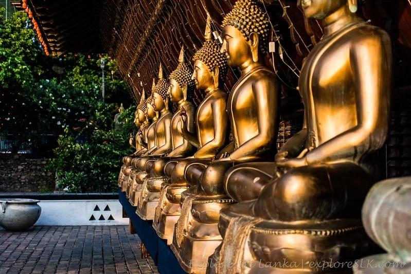 Sri Lanka landmarks - Gangaramaya Temple