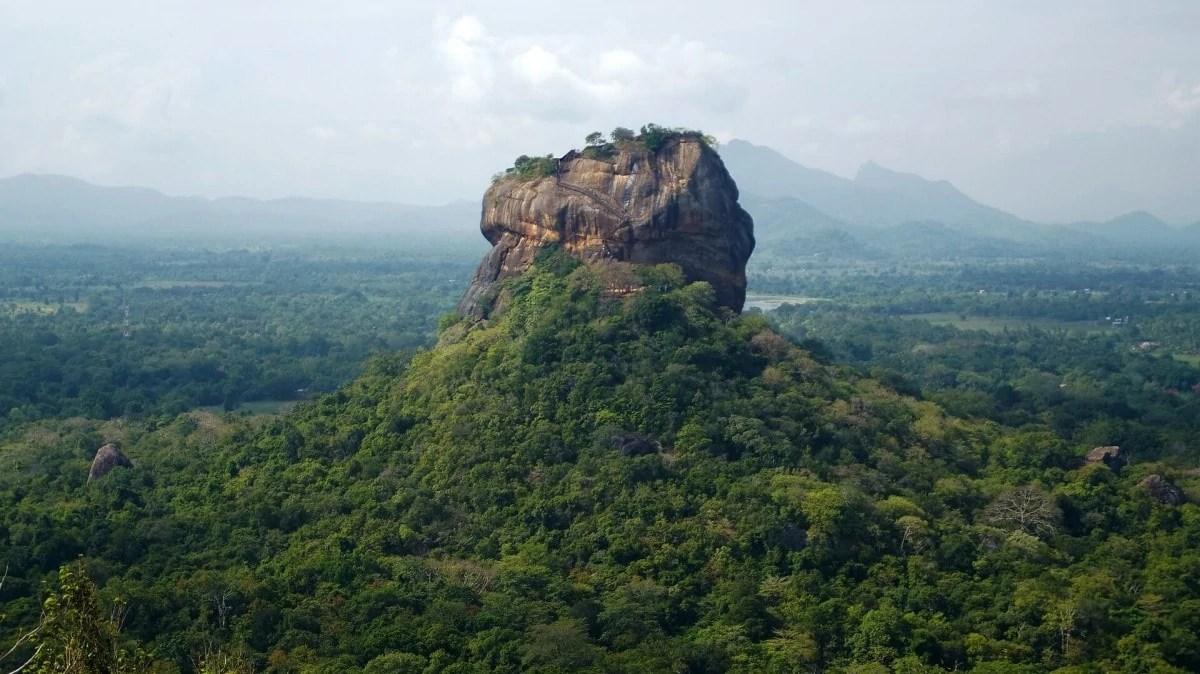 Important places of Sri Lanka- Sigiriya Rock Fortress