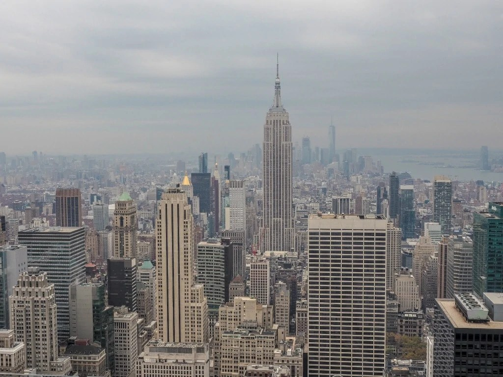 Landmarks and Monuments in the US - Empire State Building