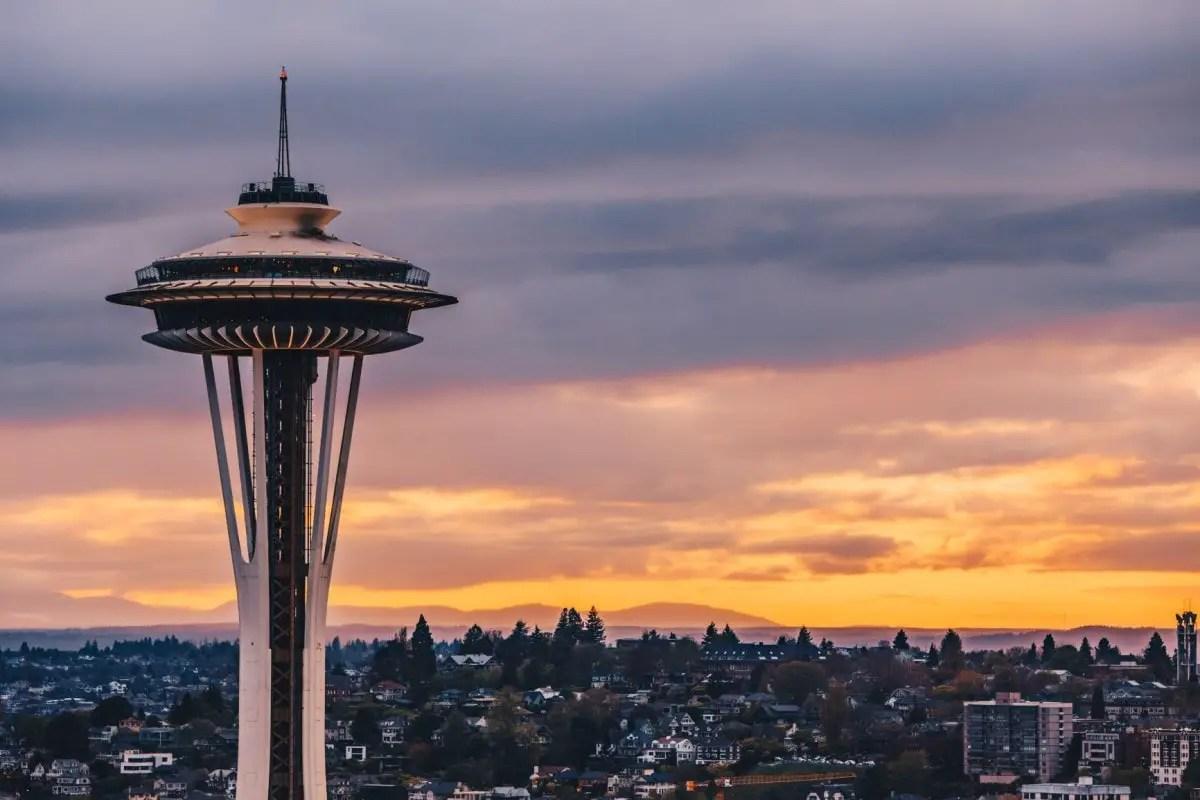 USA Landmarks - Seattle Space Needle