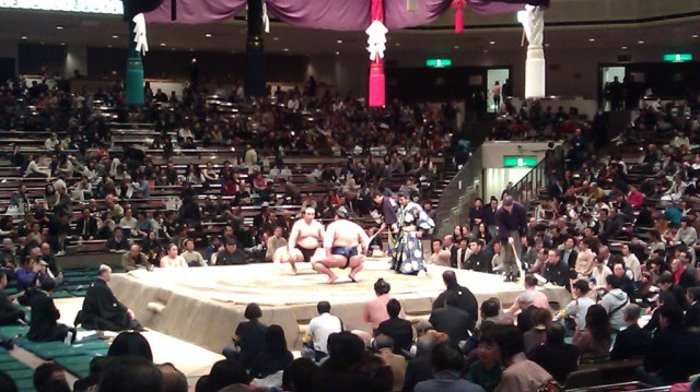 one of the best things to do in tokyo is watching a sumo tournament