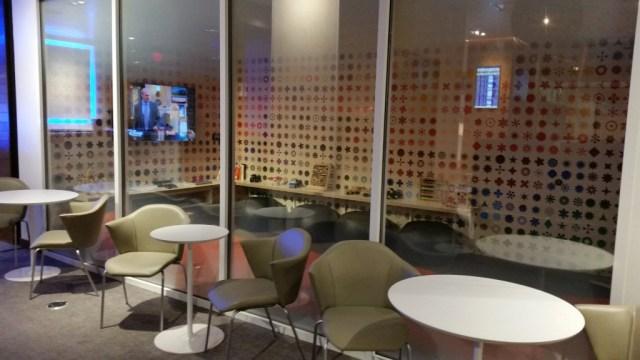 family room amex centurion lounge ;las vegas
