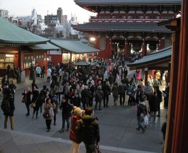 2 days in tokyo Japan: sensoji tokyo