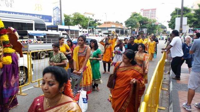 Thaipusam Procession Singapore
