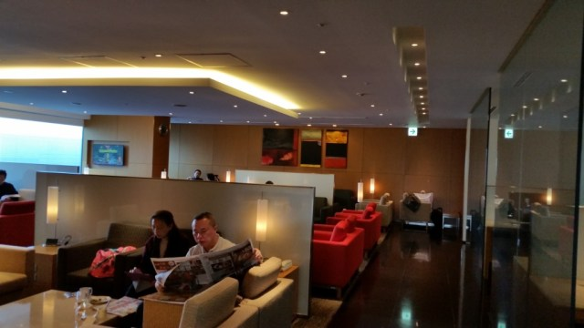 cathay pacific lounge narita