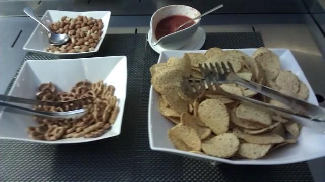 asiana business class lounge incheon food
