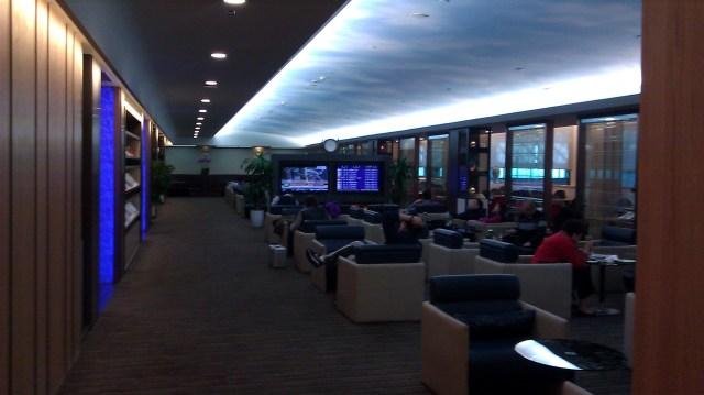 eva air lounge Taipei review