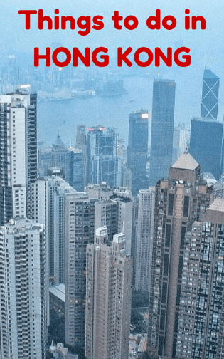 Unique Things to do in Hong Kong