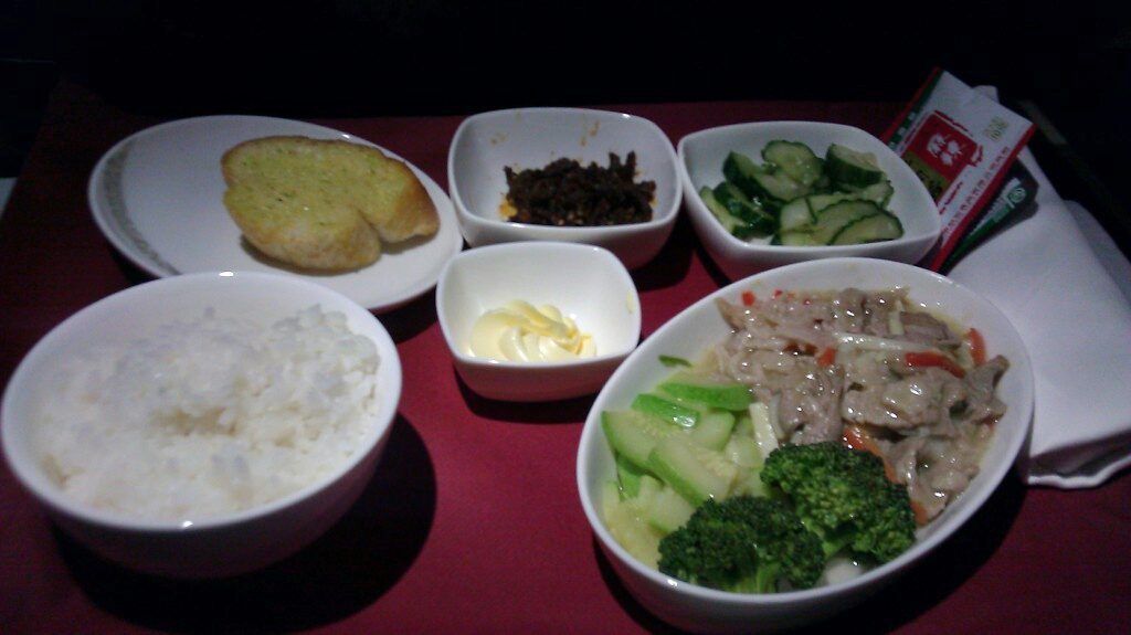 Review: Air China – Business Class – Chengdu to Taipei