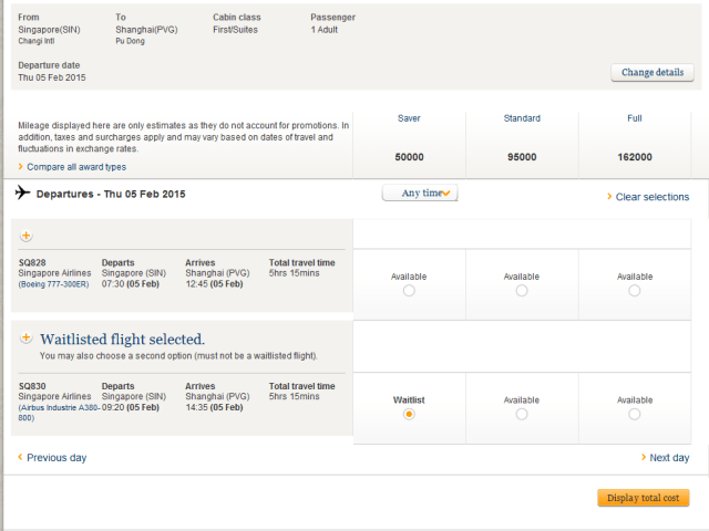 how to book singapore airlines suites with krisflyer miles